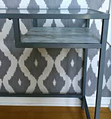 Grey Entryway Table by Ikea Vittsjo Hack Entryway Table Restyle It Wright