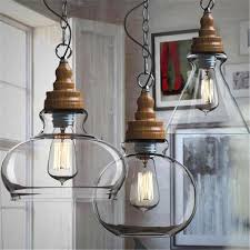 industrial style kitchen pendant lights with light fixture