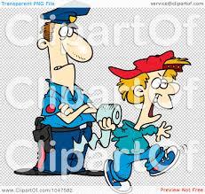 royalty free rf clip art illustration of a cartoon cop watching