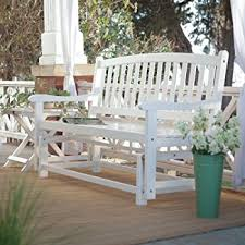 amazon com premium patio chairs loveseat modern outdoor wood