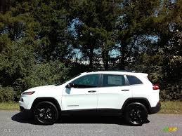 white jeep 2017 2017 bright white jeep cherokee sport altitude 4x4 115535296