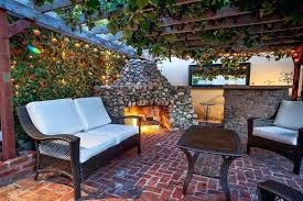 Stacked Stone Outdoor Fireplace - outdoor stacked stone fireplace indoor electric fireplace with