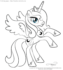cadence coloring pages princess ideas my little pony 106