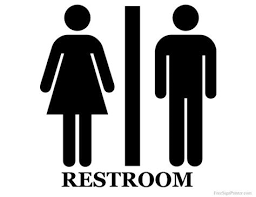 amazing a bathroom sign 11 best 25 restroom signs ideas on