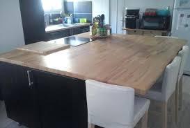 table de cuisine sur mesure ikea table cuisine sur mesure cuisine avec plan de travail et arlot