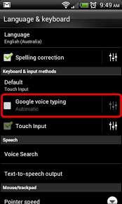 android voice htc android disable keyboard voice input it support guides