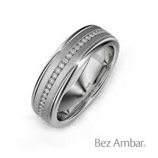 white gold mens wedding band 18k white gold s wedding band devotion