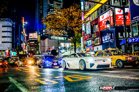 lexus lfa supercar interior the streets u2013 lexus lfa on in tokyo superfly autos