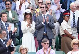 pippa middleton attends wimbledon semifinals in 294 isabel marant
