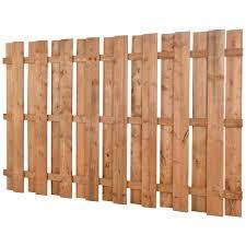 douille en bois clôture en bois traité brun carrée 5 pi x 8 pi clôtures pré