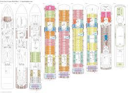 oasis of the seas floor plan seven seas voyager deck 10 deck plan tour
