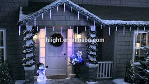 shooting star icicle lights led shooting star light string snow falling led dripping icicle