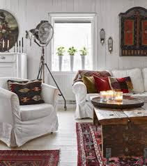 decordemon bohemian style country house in sweden