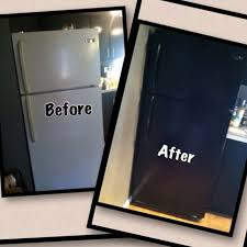 can you paint kitchen appliances spray paint refrigerator black spray painting kitchen cabinets
