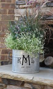 best 25 galvanized planters ideas on pinterest galvanized