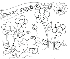 coloring pages free spring coloring sheets printable free spring