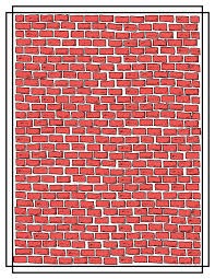 clipart of a brick wall
