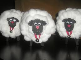 celebrating 100 day cotton ball sheep clean and scentsible