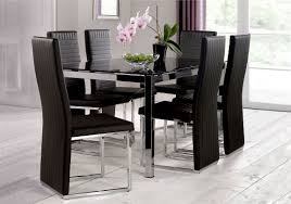glass chrome dining table eris glass dining table furniture village