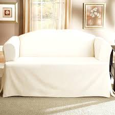 Ikea Slipcovered Sofa Best White Slipcovered Sofa Apartment Therapy Cover Slipcover
