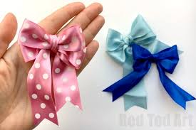 how to make hair bow how to make a bow hair bow diy ted s