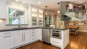 Ideas For Galley Kitchen Makeover by Before After Kitchen Remodel Amazing Before And After Kitchen