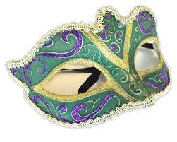 half mask glitter design mardi gras halloween costume accessory