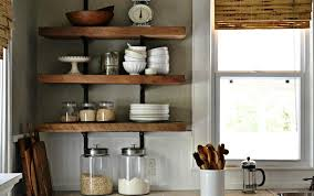 diy kitchen shelves what do you guys think about the open shelving trend for kitchens