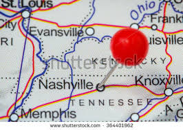 nashville on map nashville map stock images royalty free images vectors
