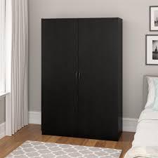 Entryway Armoire by Ameriwood Furniture Kendrick Wardrobe Storage Closet Black Oak