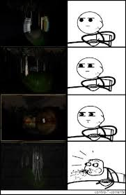 Slender Meme - cereal guy plays slender cereal guy know your meme