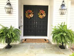 home fall decor our new house outdoor fall decor the green robe