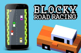 blocky roads version apk mine blocky road racing apk free racing for