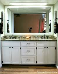 built in bathroom vanity cabinet bathroom vanity with makeup