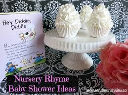 nursery rhyme baby shower nursery rhyme baby shower munchkins
