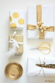 gold gift wrap gold chevron white christmas wrapping paper by