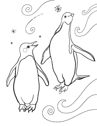 Penguin Coloring Pages Free Penguin Coloring Page by Penguin Coloring Pages