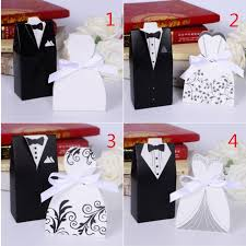 and groom favor boxes aliexpress buy free shipping 100pcs wedding centerpieces