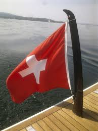 Boat Flag Poles Yacht Flag Holder Carbon Sl Swiss Carbon Marine Systems