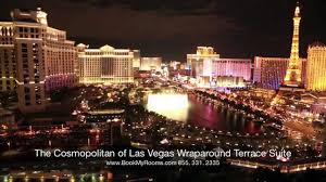 cosmopolitan city the cosmopolitan of las vegas wraparound terrace suite youtube