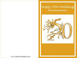 50th wedding anniversary greetings free printables 50th wedding anniversary wording