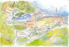 Map Of Amalfi Coast Italy by Hotel Caesar Augustus Luxury Hotel On Capri Italy Official Web