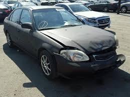 2000 honda civic sedan salvage title 2000 honda civic sedan 4d 1 6l 4 for sale in los