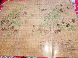 World Map Tablecloth by Creating A Map With Some Dice Album On Imgur