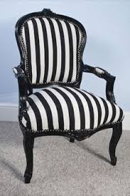 Black And White Striped Accent Chair Black And White Striped Chair Gonna Do One Of These Too