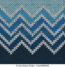 eps vector of seamless knitted pattern style knit woolen jacquard