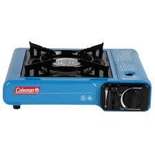 portable table top butane stove coleman 1 burner tabletop butane c stove walmart com