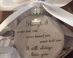 personalized remembrance ornaments miscarriage etsy