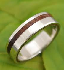 wood rings wedding equinox nacascolo wood ring with recycled silver ecofriendly