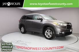 toyota l certified pre owned 2015 toyota highlander l sport utility in